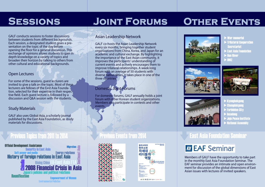 About GALF – Global Asia Leadership Forum (GALF)