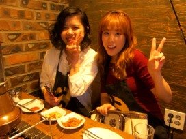 After party with our 선배s!