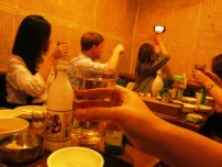 2nd Dinner with alcohol